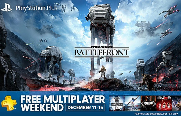 PlayStation 4 Free Online Multiplayer Weekend