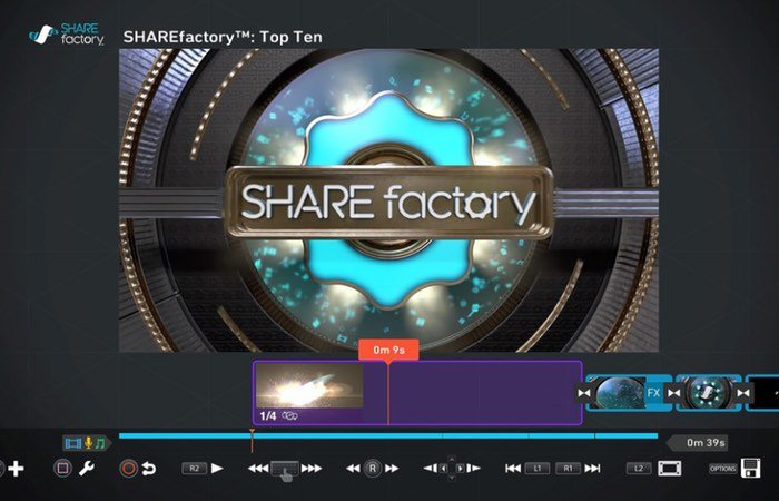 PlayStation Sharefactory Update
