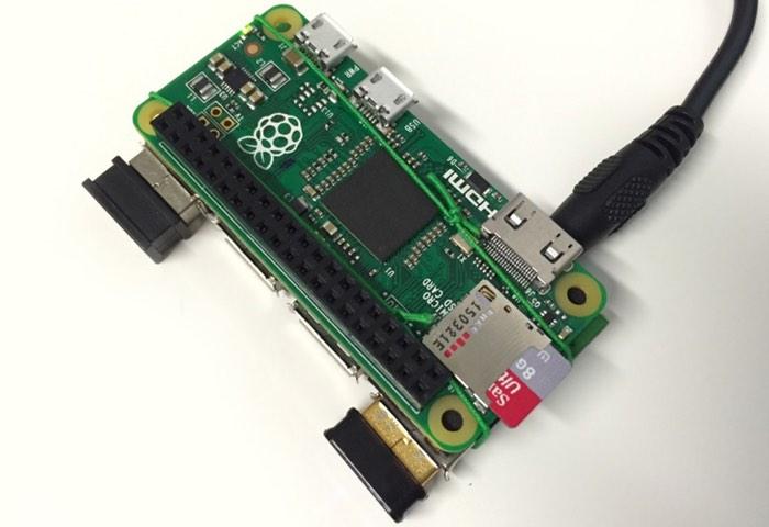 Raspberry Pi Zero USB Hub Mod