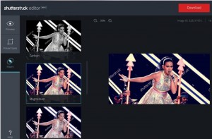 New Shutterstock Online Editor Rolls Out Offering Easy Online Image Editing