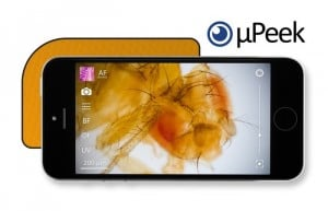 µPeek Professional Smartphone Pocket Microscope (video)