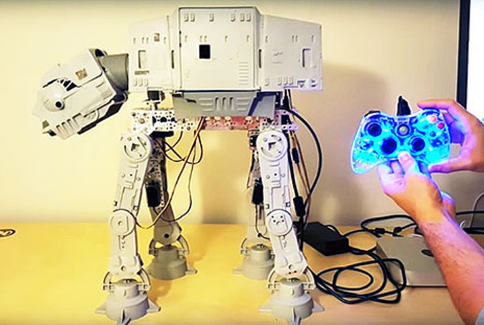Star Wars AT-AT Arduino