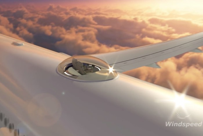 Windspeed SkyDeck Concept Offers Aircraft Passengers An Amazing ...