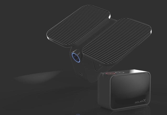 Activeon Solar X Solar-Powered 4K Action Camera