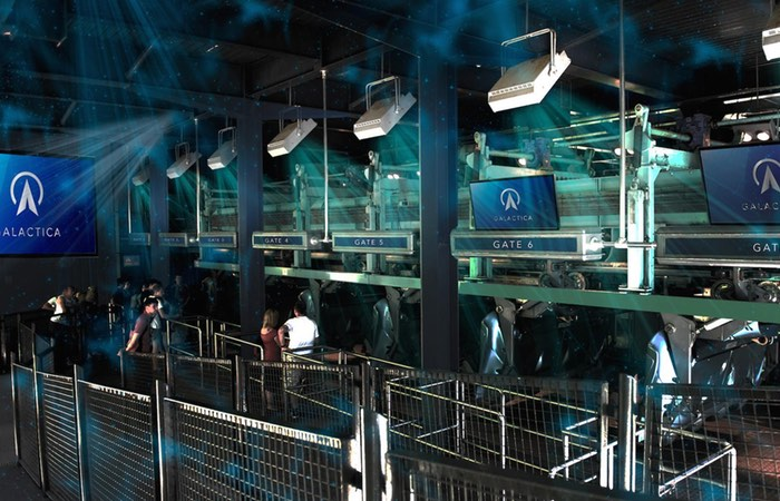 Alton Towers VR Ride