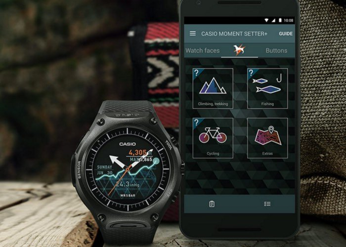 Android Wear Casio Smartwatch-1