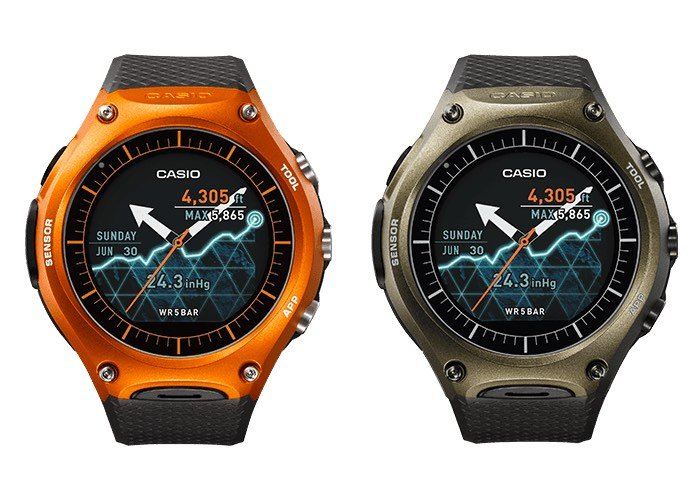 Android Wear Casio Smartwatch WSD-F10