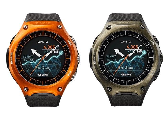 Android Wear Casio Smartwatch WSD-F10