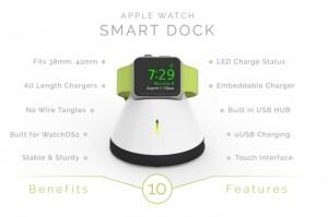 Apple Watch Smart Dock Launches On Kickstarter (video)
