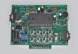 Arduino Audio Recording And Playback Module Unveiled (video)