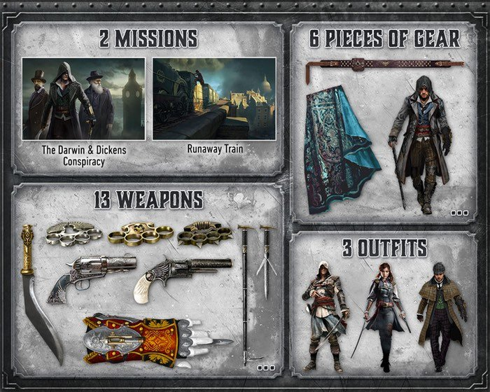 assassins creed syndicate dlc