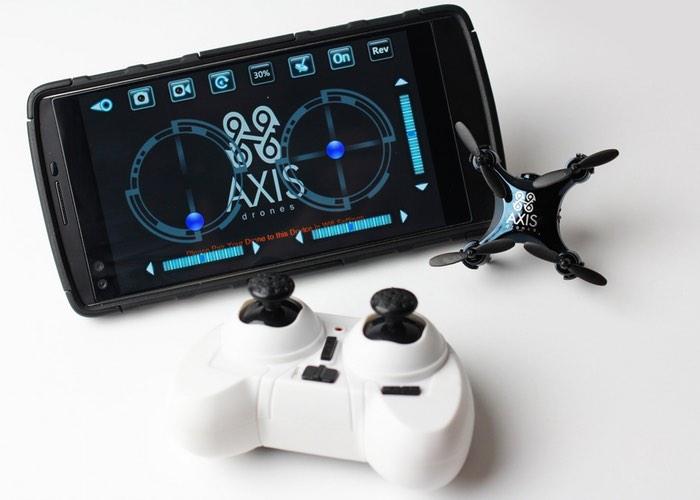 Axis VIDIUS camera drone