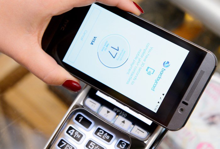 Barclaycard Android App NFC