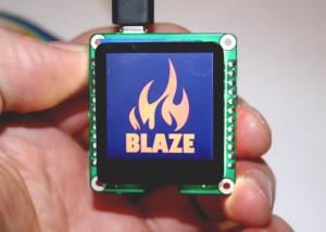 Blaze Hackable Minature Touchscreen Display Hits Kickstarter For $35 (video)
