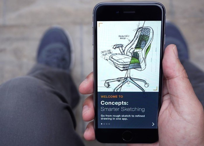 Concepts iPhone Drawing App