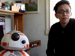 Smartphone Controlled Life Size Star Wars DIY BB-8 Robot Built For Less Than $100 (video)