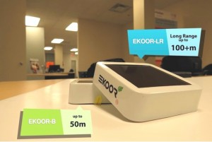 EKOOR Solar Proximity Beacons Support Apple iBeacon And Google Eddystone (video)