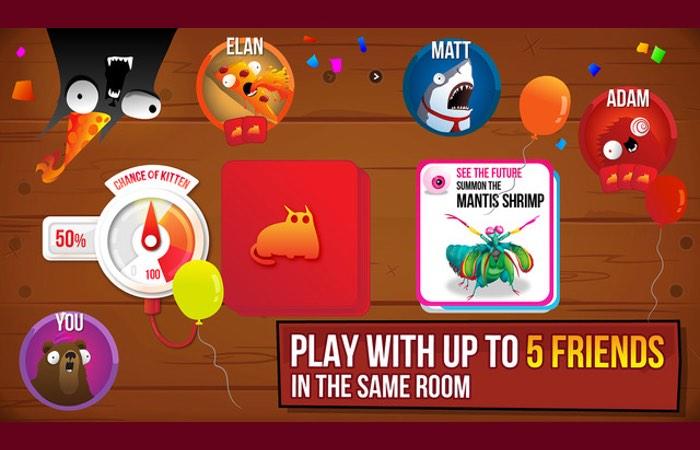 Exploding Kittens iOS App-1