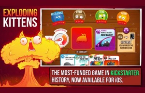 Exploding Kittens Card Game Now Available As An iOS App