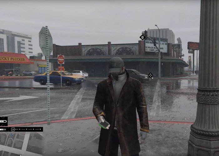 Grand Theft Auto V Mod Watch Dogs