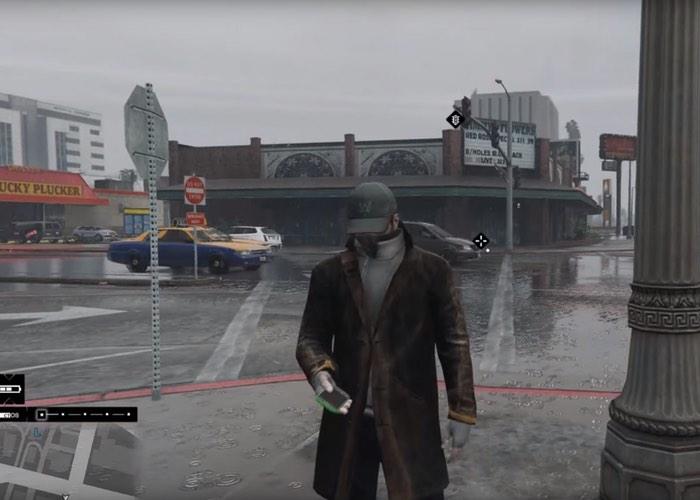 Grand Theft Auto V Mod Watch Dogs