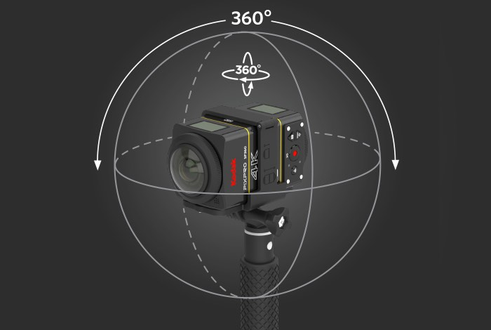 Kodak SP360 4K Action Camera