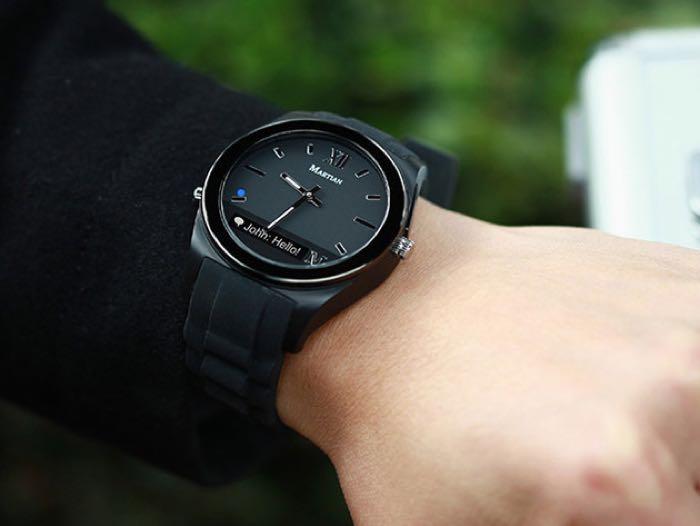 Martian Notifier Smartwatch