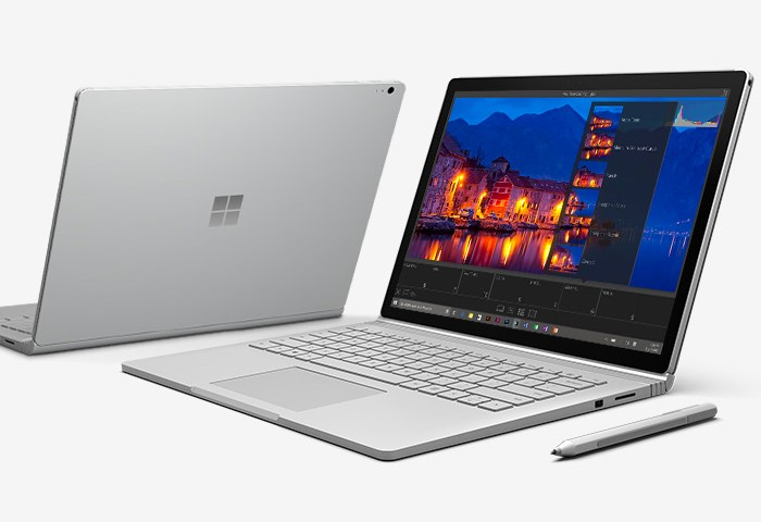 Microsoft's first laptop is coming to the United Kingdom on Tuesday