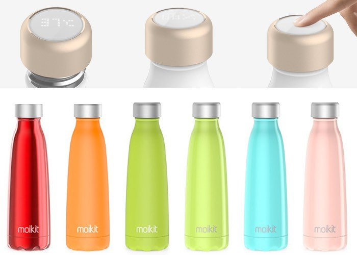 Moikit Seed Smart Bottle With Touchscreen