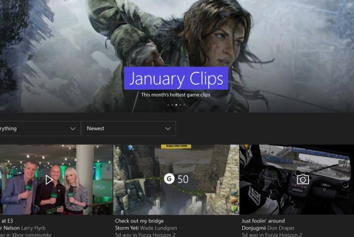 New Features Coming To Xbox One Preview