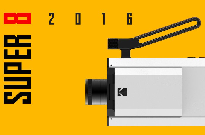 New Kodak Super 8 Video Camera
