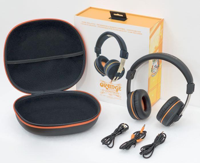 Orange Amplification O Edition Headphones
