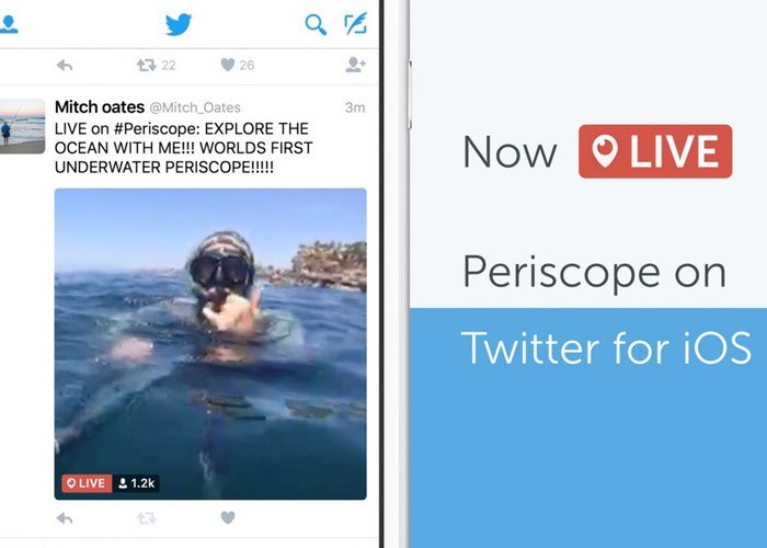 Periscope Now Automatically Play In Twitter iOS App