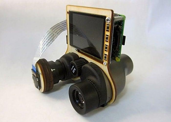 PiNoculars Created Using Raspberry Pi Mini PC