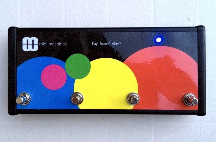 Popboard Arduino Bluetooth MIDI Foot Controller (video