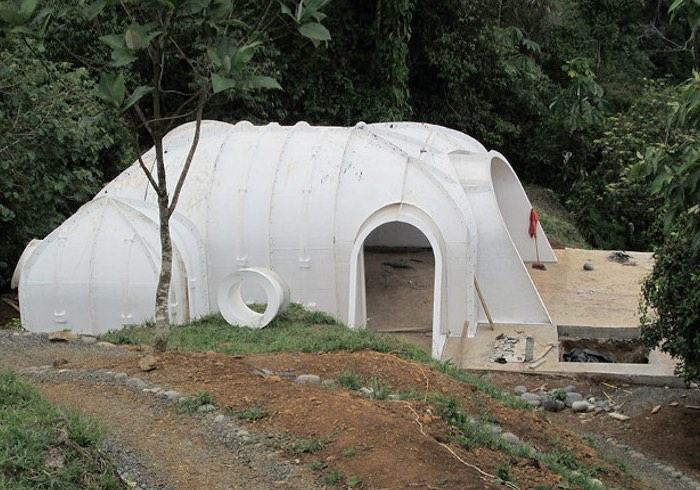Pre fab hobbit homes can be built in just 3 days by 3 for Pre engineered houses