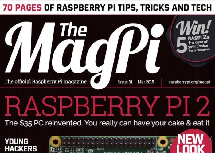 Rasberry Pi Magazine MagPi