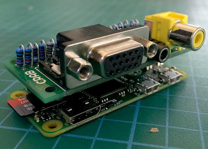 Raspberry Pi Zero Analog Expander Cap Offers VGA And Analog Connections