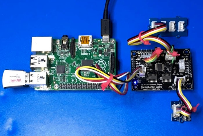 Raspberry pi and arduino channel i c multiplexer board