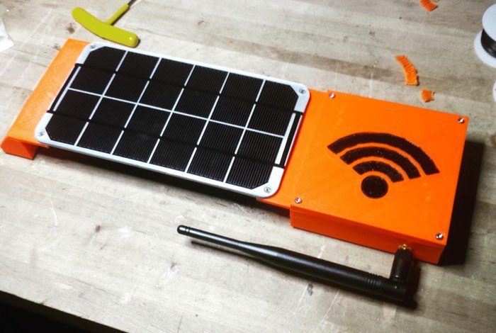 Rogue Router Solar Powered File Server