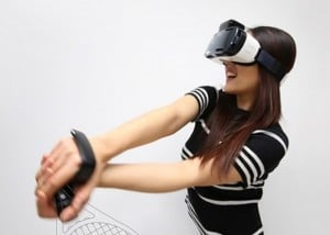 Samsung Gear Rink VR Motion Controllers Demonstrated Ahead of CES 2016 (video)