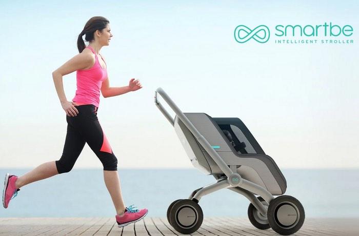 Smartbe Self Propelled Smart Stroller