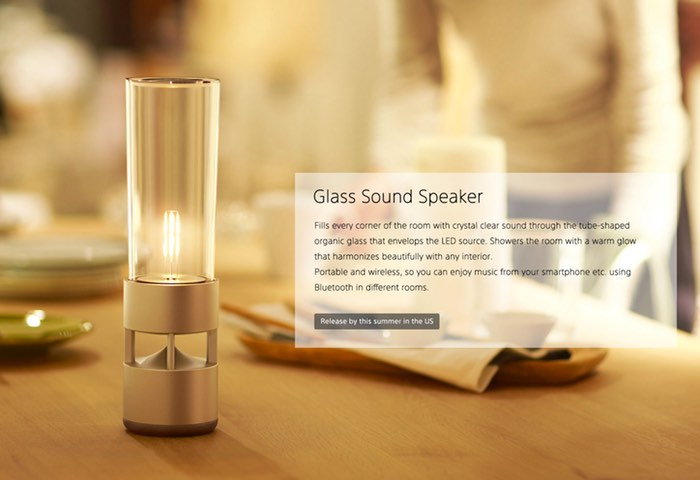 Sony Glass Sound speaker LSPX-S1