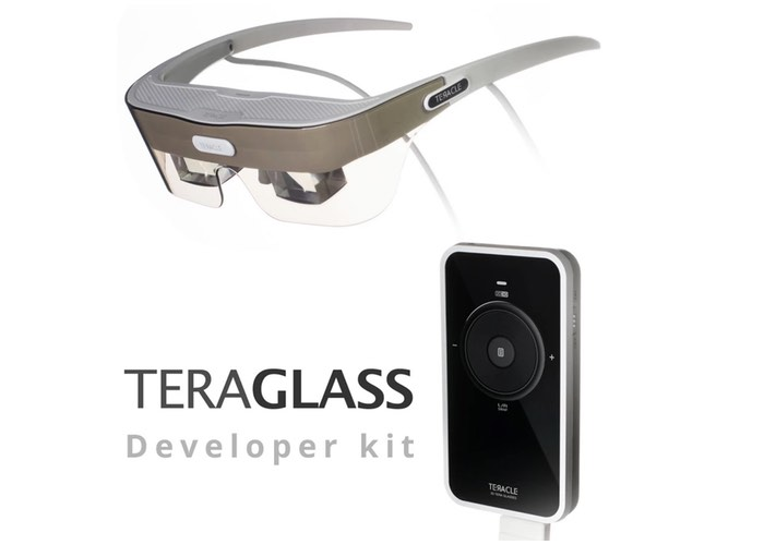 TeraGlass Personal Head Mounted Display