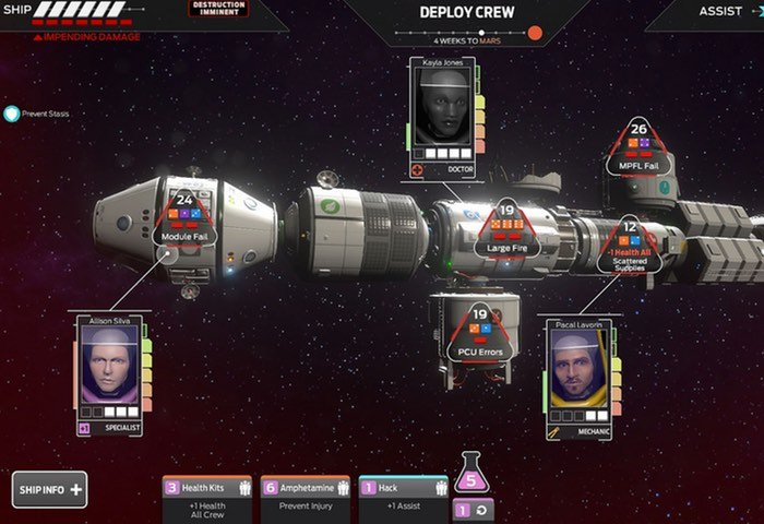 Tharsis Launches On PlayStation 4