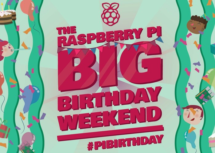 Tickets For Official Rasbpery Pi 4th Birthday Party Celebrations Now Available