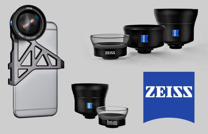 Zeiss External iPhone Lenses