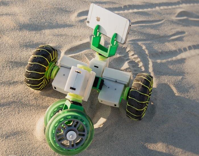Ziro Gesture Controlled Robot