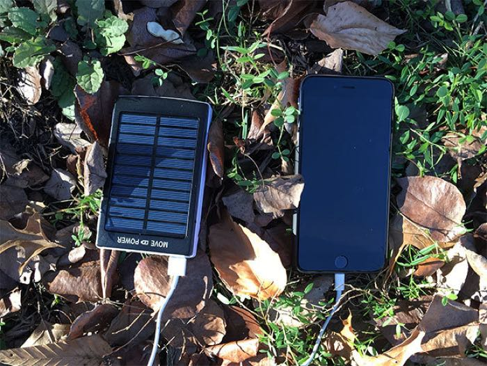 Solar 30000mAh Battery Pack with Flashlight