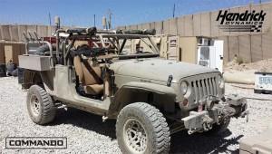 Hendrick Dynamics wants to Put Jeep Wranglers on the Battlefield